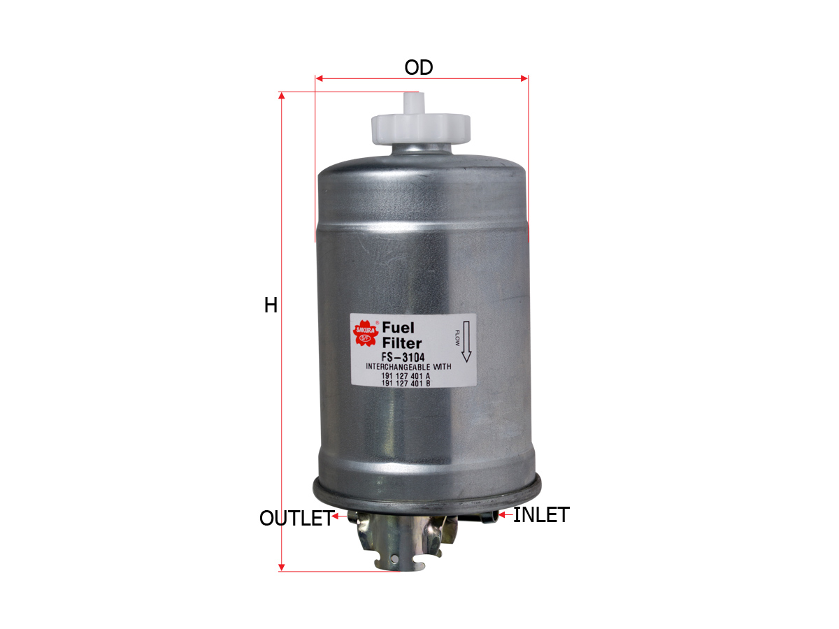 Sakura Filter Fs 3104 Cabriolet Fuel