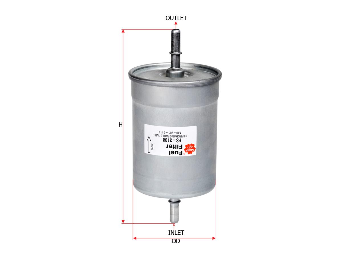 Sakura Filter Fs 3108 Cabriolet Fuel