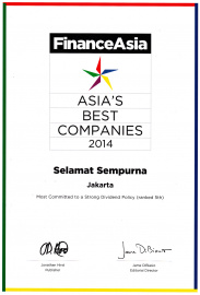 Most Committed to a Strong Dividend Policy from Finance Asia