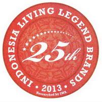 Indonesia Living Legend Brands 2013