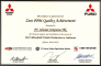 Mitsubishi - Zero PPM Quality Achievement