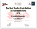 Suzuki - The Best Vendor Contribution for Automobile Parts