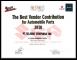 Suzuki - The Best Vendor Contribution for Automobile Parts
